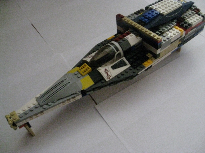 LEGO MOC - In a galaxy far, far away... - Two-seated Star Fighter