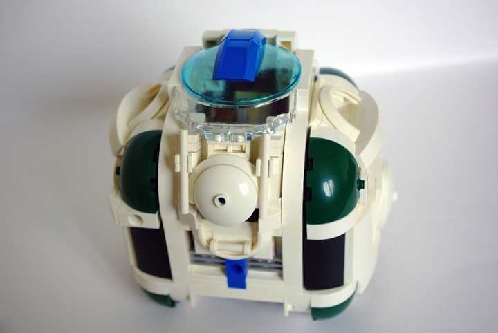 LEGO MOC - In a galaxy far, far away... - One man spaceship 'Izida-6'