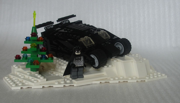 LEGO MOC - Heroes and villians - Happy New Year, Bats!