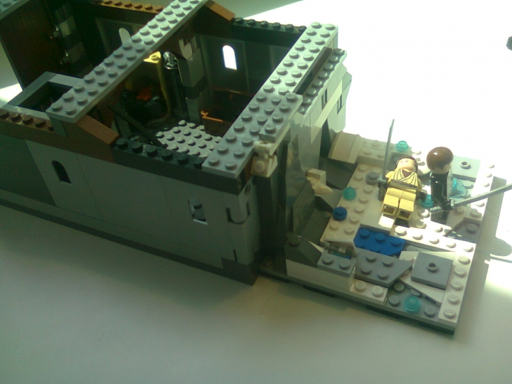 LEGO MOC - Heroes and villians - League of Assassins Lair from the 'Batman:Begins': все вместе