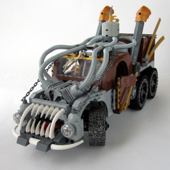 LEGO MOC - Steampunk Machine - 王者之劍: <br><i>- Excellent colors! Noble bronze & yew.</i><br>