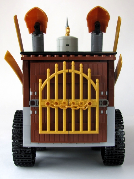 LEGO MOC - Steampunk Machine - 王者之劍: <br><i>- I will not show you what is inside ;)</i><br>