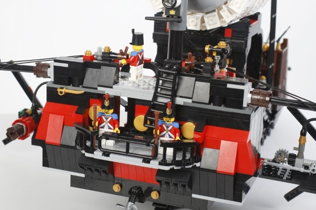 LEGO MOC - Steampunk Machine - FS-041m: корма покрупнее