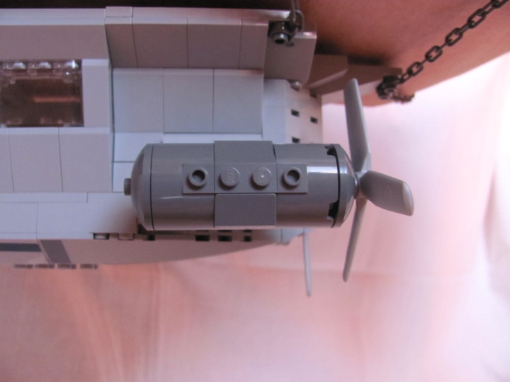 LEGO MOC - Mini-contest 'Zeppelin Battle' - Postman (Dirigible): <br /> We have got TWO!<br />