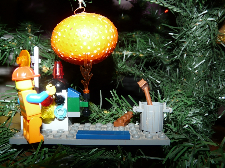 LEGO MOC - New Year's Brick 2014 - Рождественская история