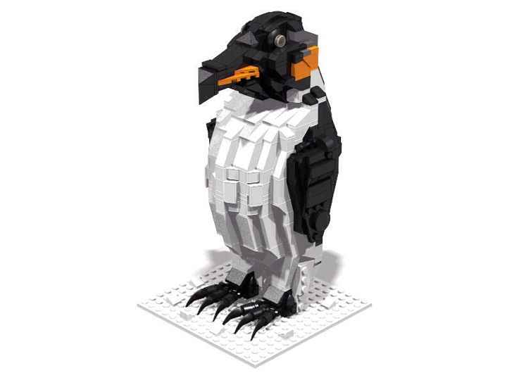 LEGO MOC - 16x16: Animals - Emperor Penguin