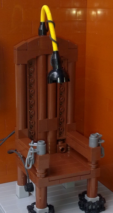 LEGO MOC - 16x16: Technics - Electric Chair