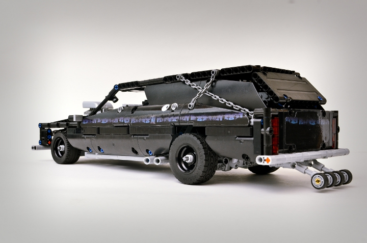LEGO MOC - Technic-contest 'Car' - Graverobber