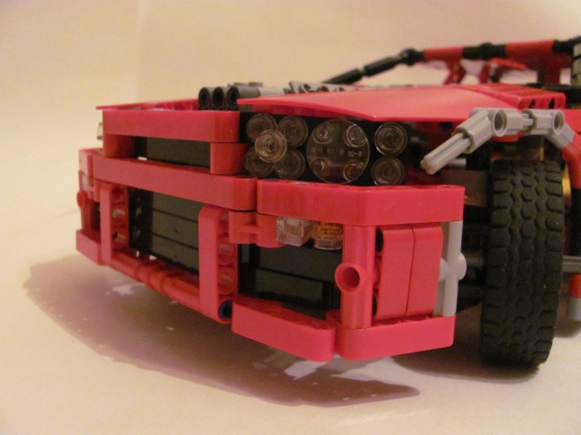 Bricker - LEGO MOC - Nissan Skyline GT-R R34.