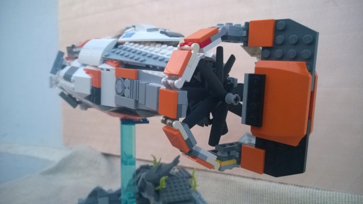 LEGO MOC - Submersibles - Sea Nebuchadnezzar