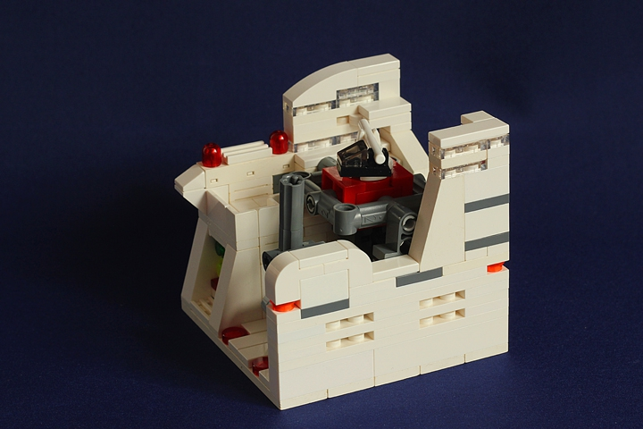 LEGO MOC - Battle of the Masters 'In cube' - Cosmonaut Training Centre