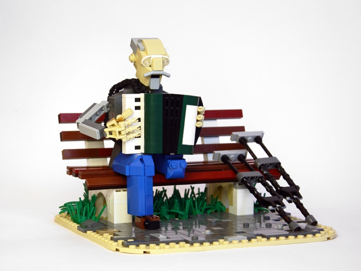 LEGO MOC - Joy and Sadness of Great Victory - Veteran: