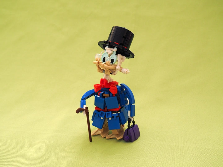 LEGO MOC - Battle of the Masters 2016 - Scrooge McDuck