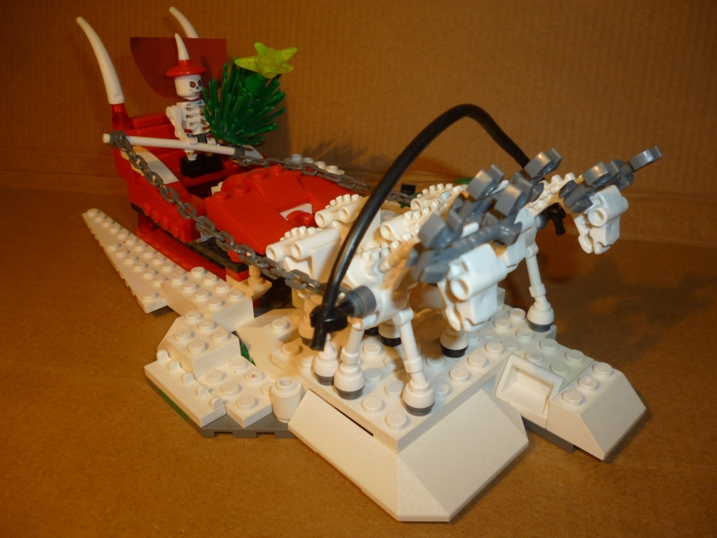 LEGO MOC - New Year's Brick 2017 - Скелетонский Дед Мороз