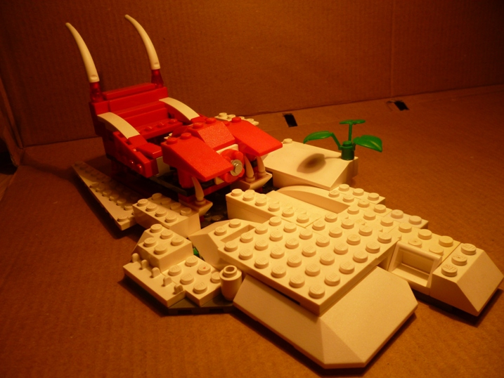 LEGO MOC - New Year's Brick 2017 - Скелетонский Дед Мороз: Сани