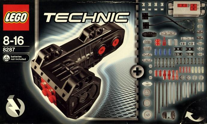 Лего Техник 42042 Передвижной башенный кран  Обзор  Lego