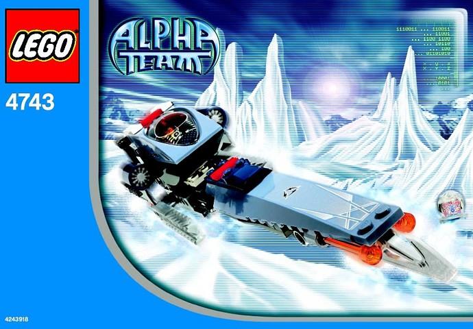 bricker - 组装玩具,来自 lego 4743 ice blade