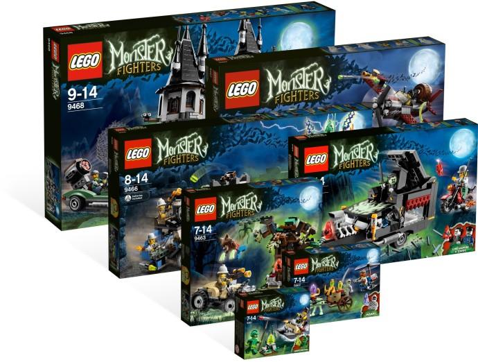 bricker - 组装玩具,来自 lego 5001133 monster