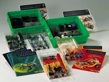 bricker - 组装玩具,来自 lego 9780 robolab starter